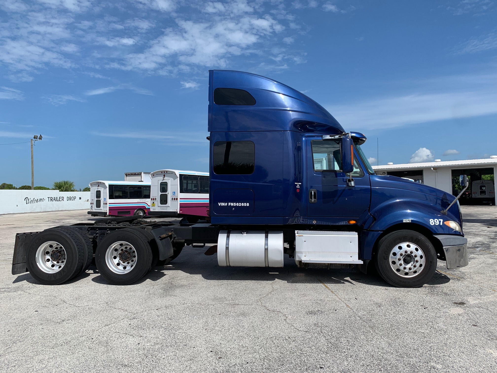 Pre-Owned 2015 INTERNATIONAL PROSTAR 6X4